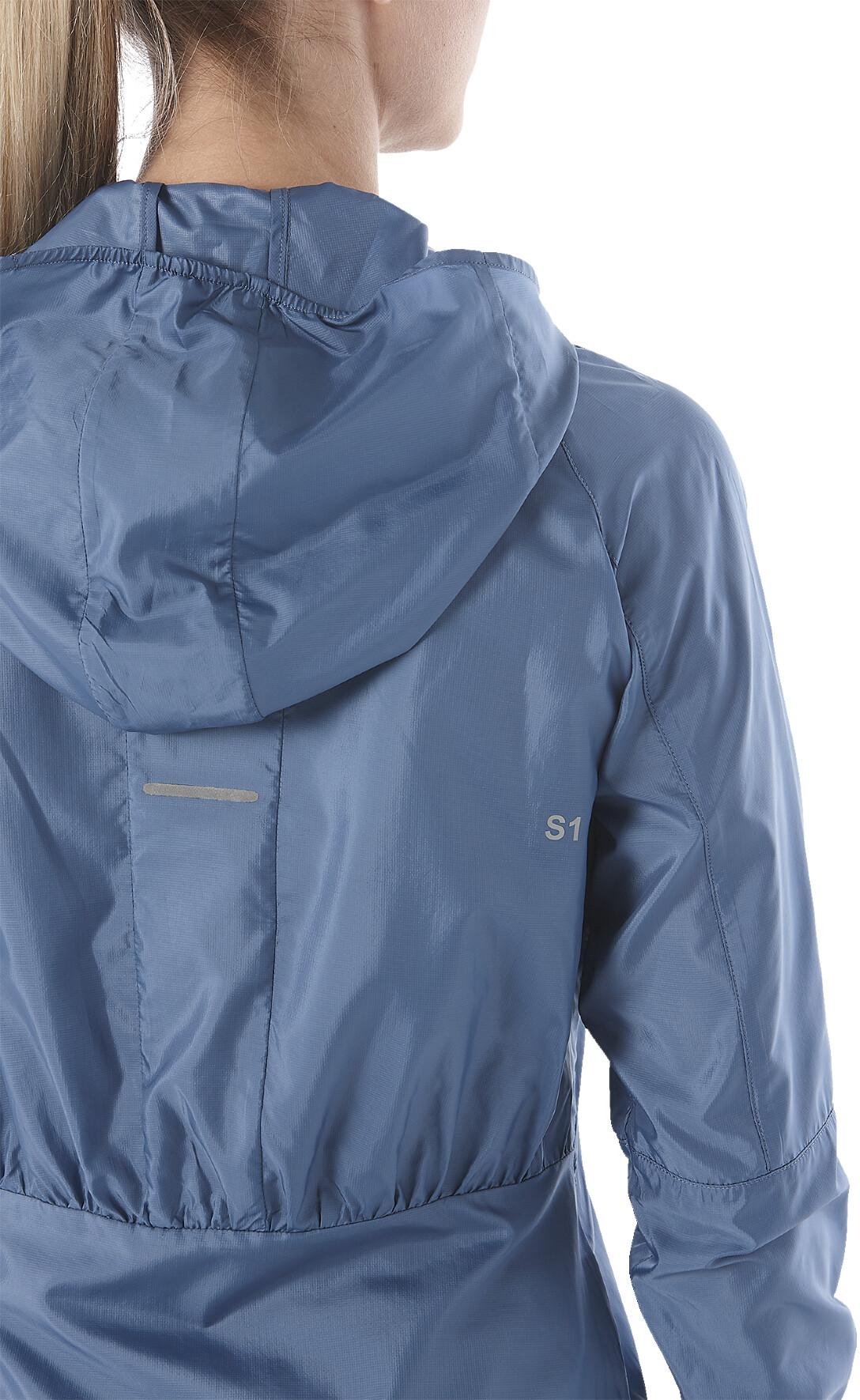 asics Packable Jacket Damen azure